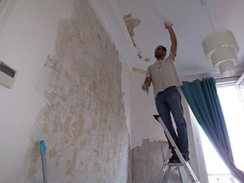 Rénovation de la maisons de Mr Marx