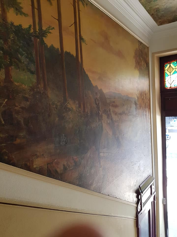 Pose décoration mural