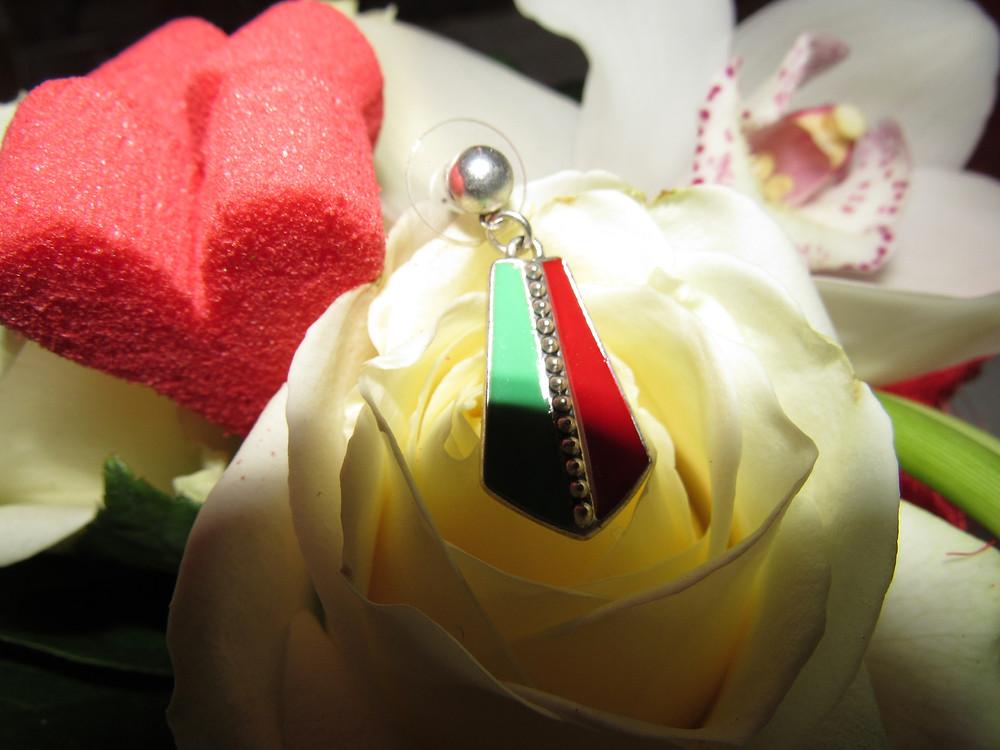 paires de boucles d'oreilles, Machu Piccu, bijoux chérie