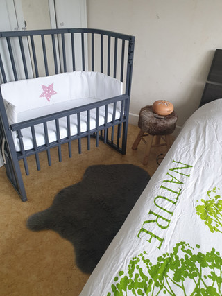 Le lit de baby est enfin en place !!!