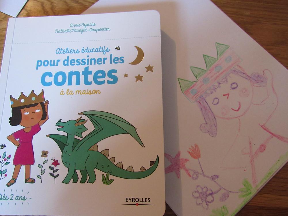 ateliers éducatifs, apprendre a dessiner enfant