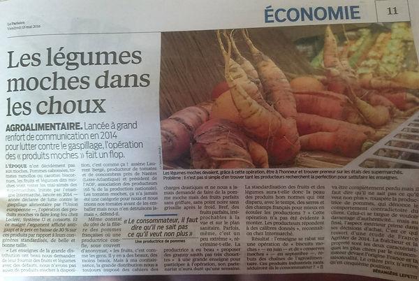 le parisien, les légumes moches