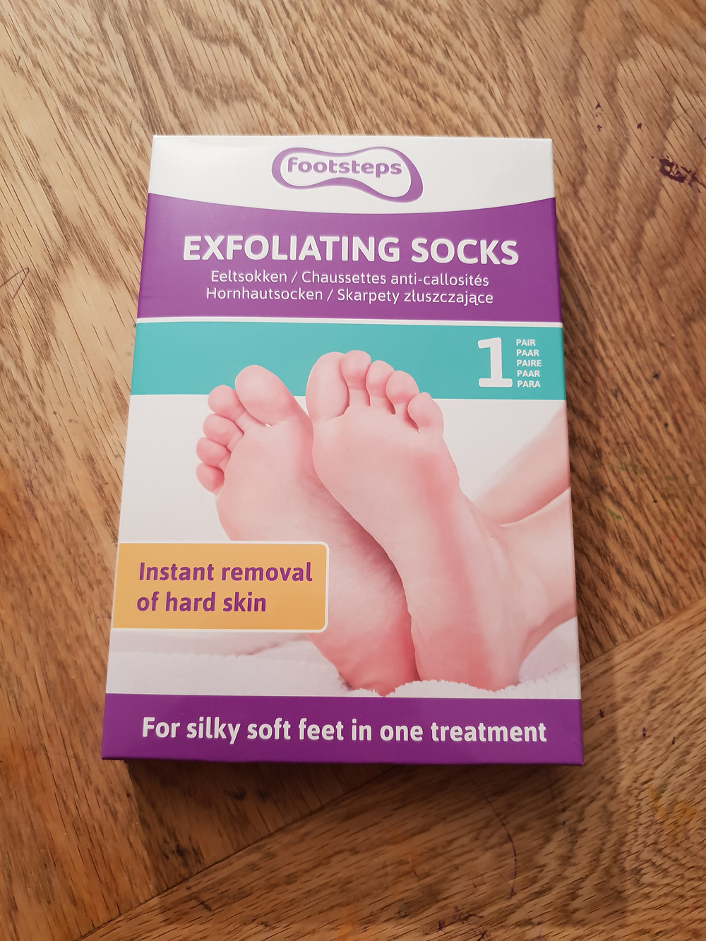 Exfoliating socks de Footsteps avis