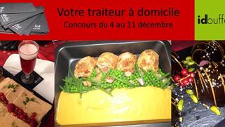 Votre repas de Noël fait par un grand chef ! Idbuffet découverte et concours