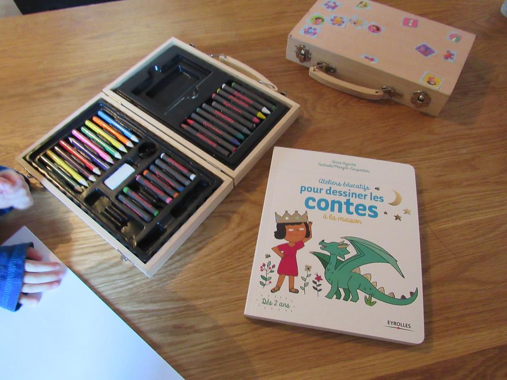 apprendre a dessiner, dessiner des contes avec les enfants