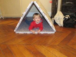 Artbee, une découverte juste au TOP... Tapis de jeux, cabanes et canapés POUR enfants.