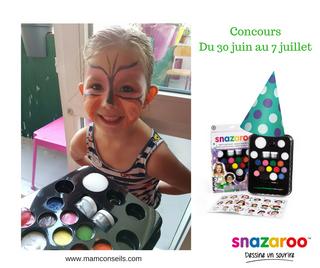 Concours Maquillage pour enfants SNAZAROO