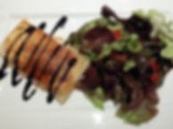 croustillant chèvre magret canard et pommes, xv eme