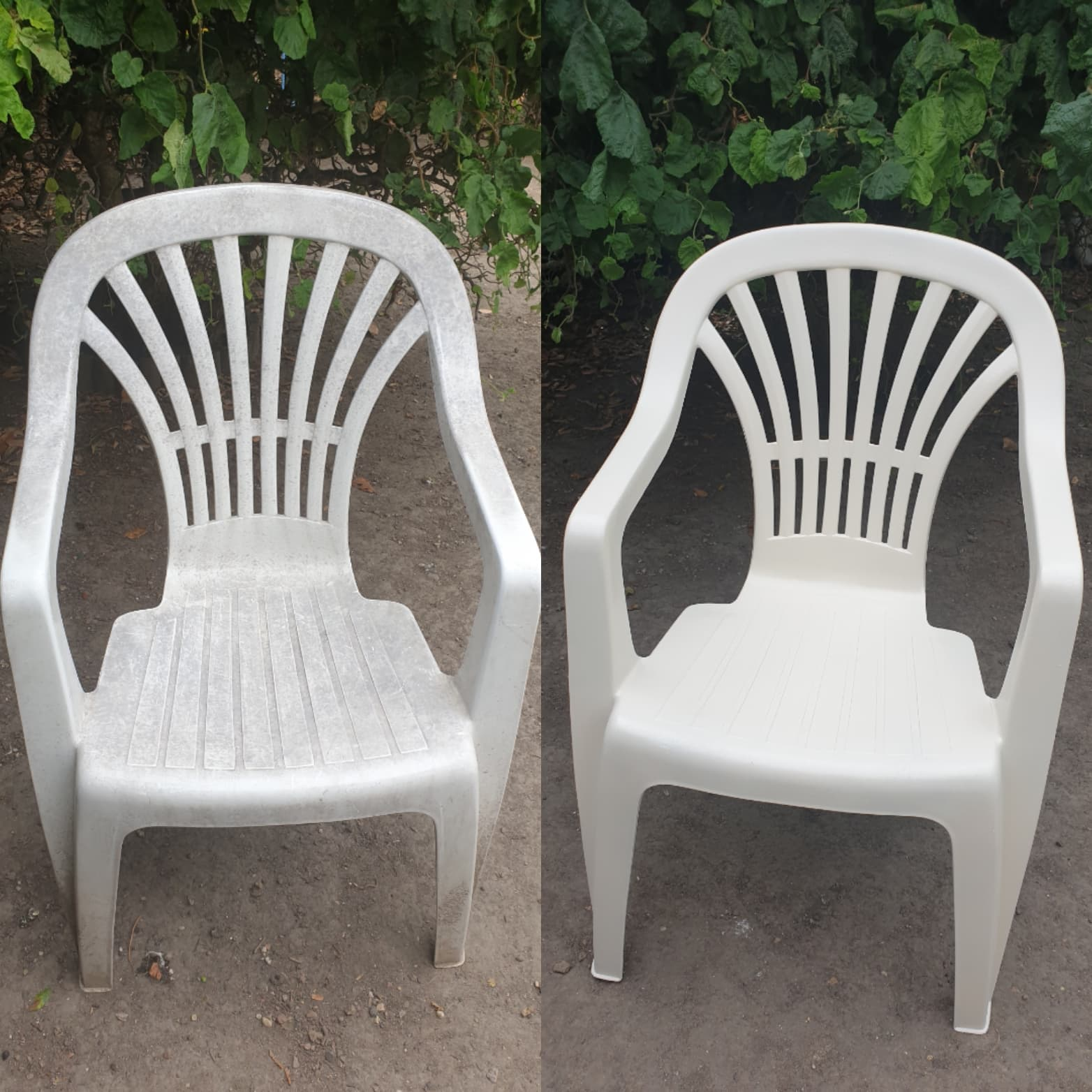 Comment Nettoyer Des Chaises En Plastique Blanc comment redonner une seconde jeunesse à vos chaises de jardin ?