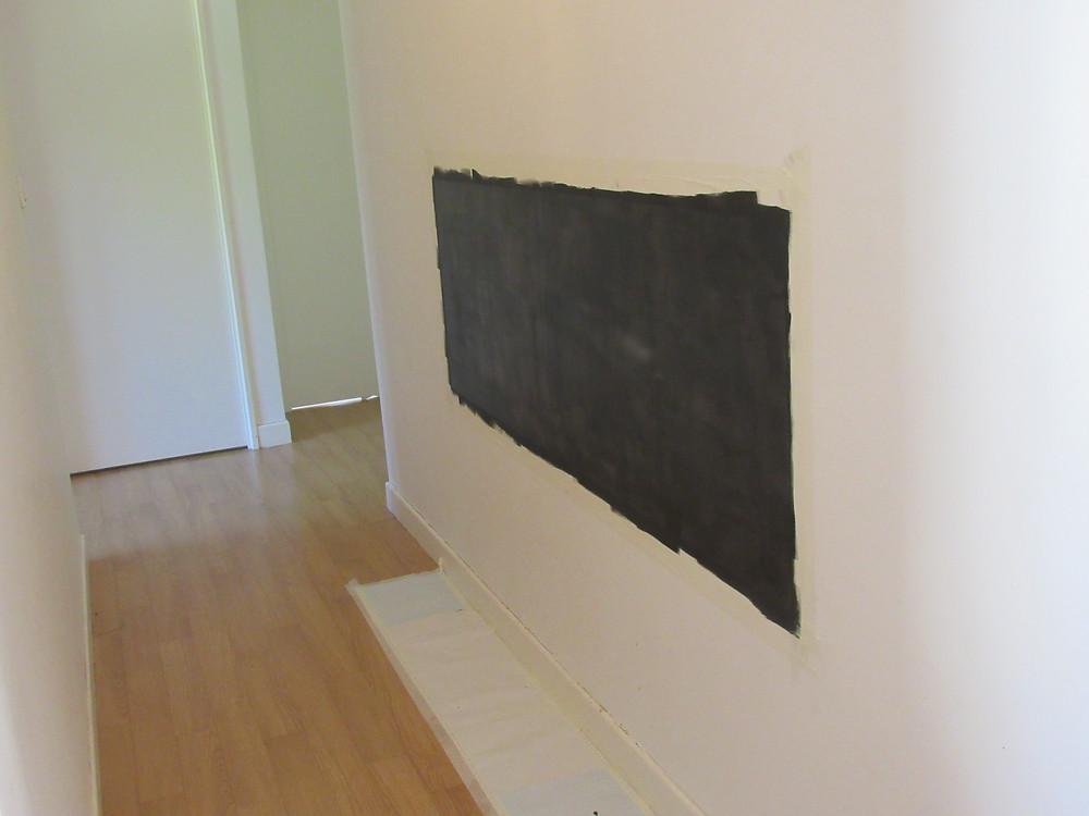 gribouille 1ere couche, peinture, tableau, craies