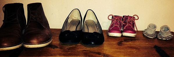 chaussure papa a bébé