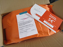 la marque Loveiswall, emballage orange