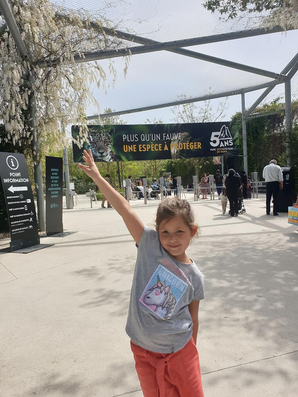 Viste du Zoo de Vincennes en famille avis de maman