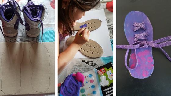 création pour apprendre a faire des lacets, tutoriel diy