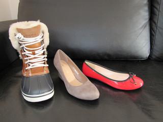 Mes pieds prêts pour l'hiver! + concours