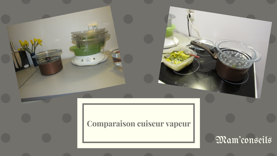 cuiseur vapeur comparaison