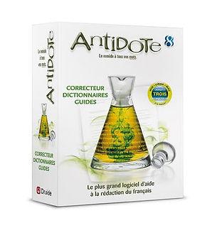 antidote, coffret, avis, témoignage, visuel, logiciel, correcteur d'orthographe