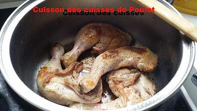 poulet basquaise, basquaise, cuisse de poulet