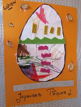 Carte Joyeuses Pâques, facile, rapide, 18 mois