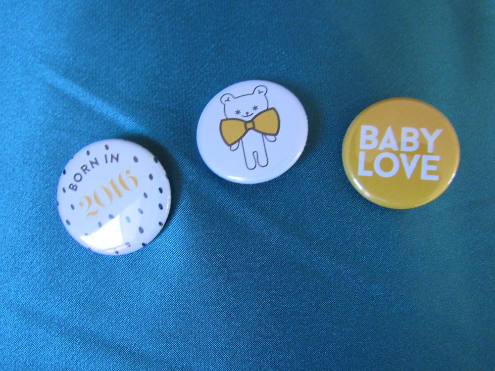 badges bébé, ma première box, avis maman, blog