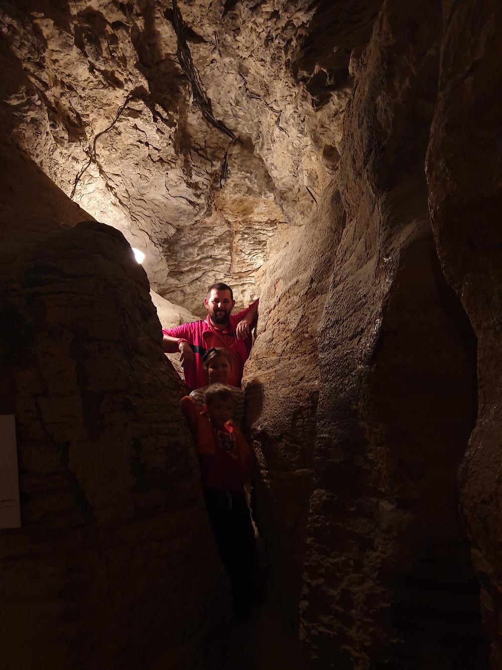 Labyrinthes des grottes de balme