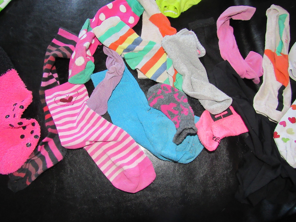 que faire des chaussettes orphelines?