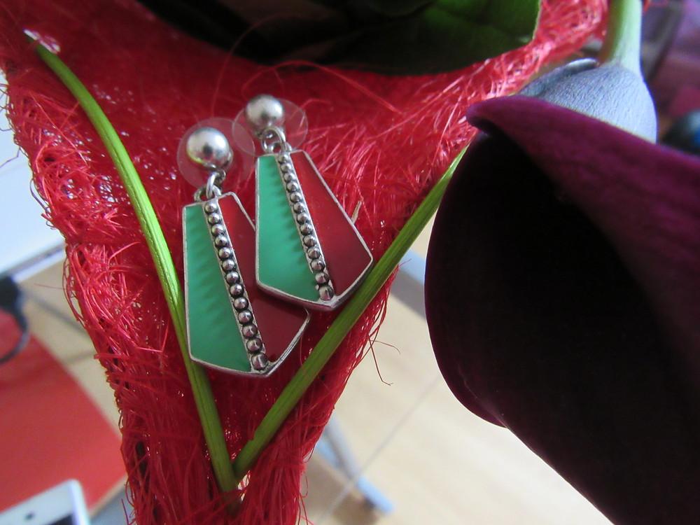 Les Boucles d'oreilles Machu Piccu