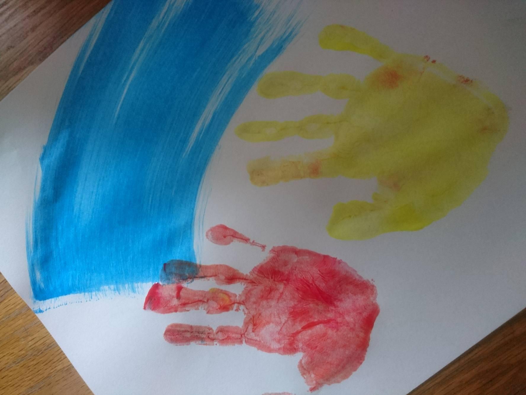 Peinture enfant 2 à 5ans