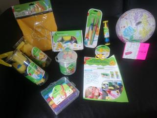 Matériel d'activités créatives bon plan Auchan