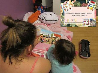 enfant, lit, maman, lecture, fleurus, histoire, choisir