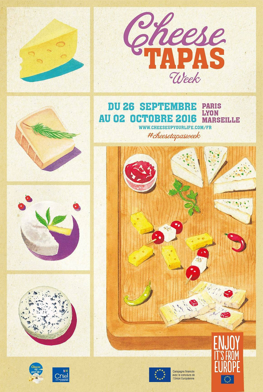 cheese tapas week