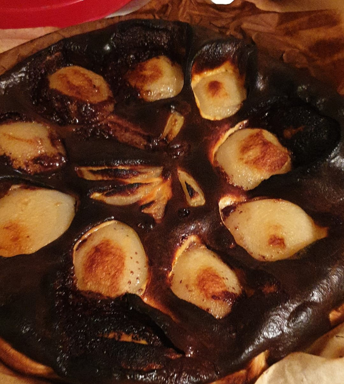 Tarte poires et chocolat mamconseils