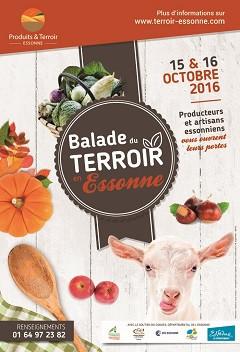 Balade du terroir en Essonne le 15 et 16 octobre 2016