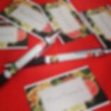 Mam'conseils, goodies, carte de visite, stylo, vistaprint, logo mamconseils