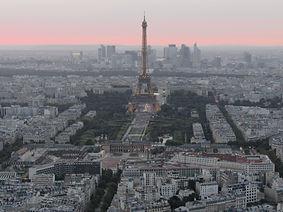 paris depuis Montparnasse 56eme etage tour eiffel