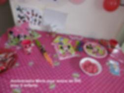 anniversaire Minie, thème anniversaire enfant