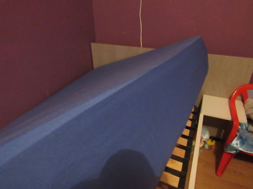 b-sensible drap house alèse, drap bleu, lit test, avis, propreté