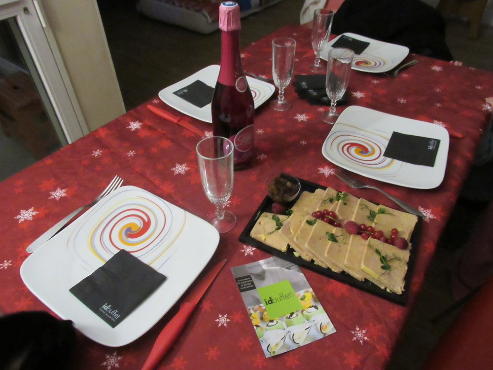 décoration de table repas de noël idbuffet