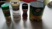 Sublimé une boite de légumes (conserve)