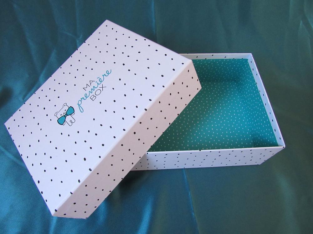 Une jolie boite, ma première box
