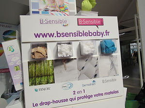 b-sensible drap house alèse, composition drap