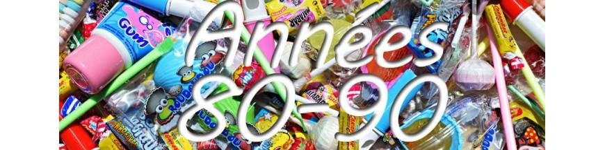 bonbons années 80 - 90