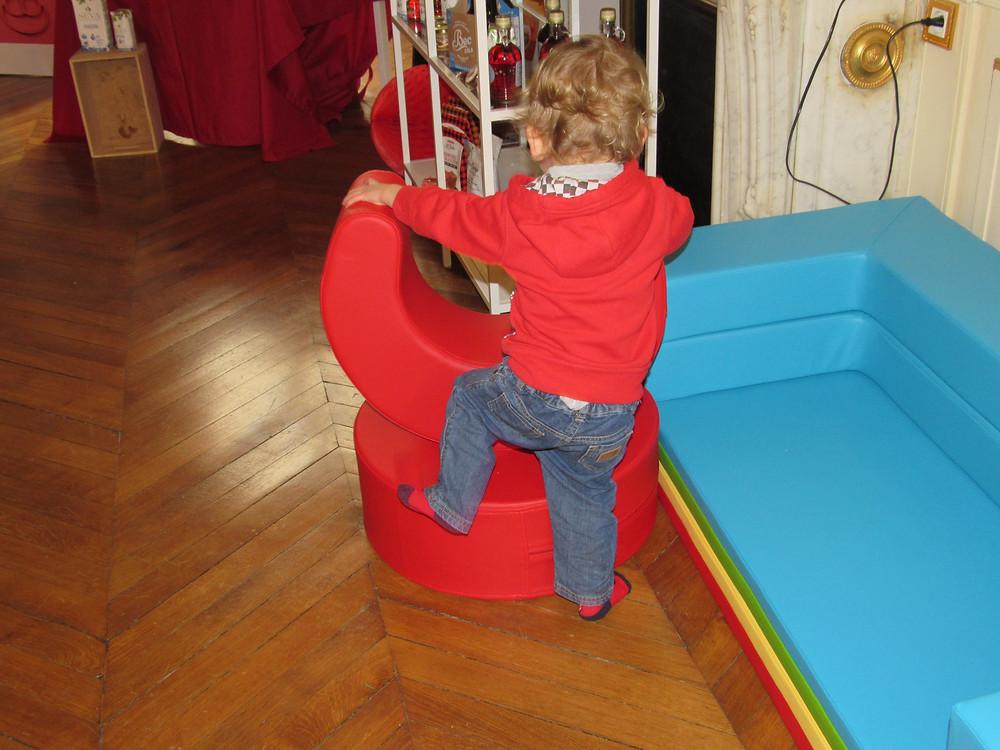 Les produits Artbee, fauteuil enfant