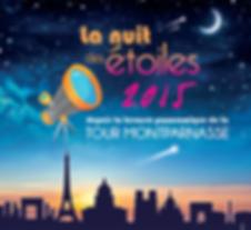nuit des étoiles Montparnasse, terrasse panoramique, 2015