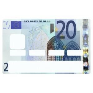 stickers carte bleu, stickeramoi