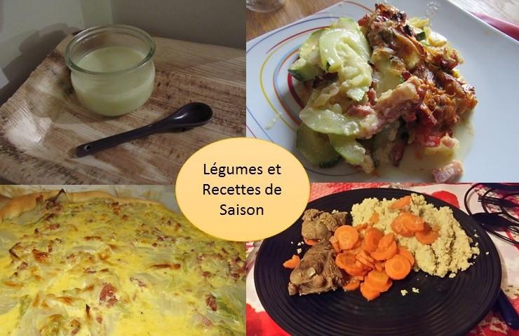 légumes et recettes de saison pour le mois d'aout
