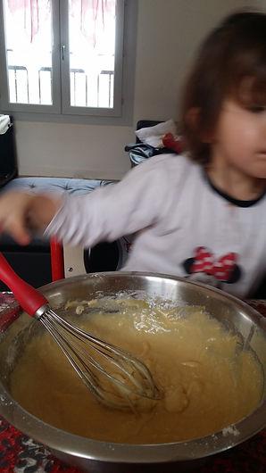 gateau yaourt, fouet 123 mam conseil, rectte gateau facile enfant