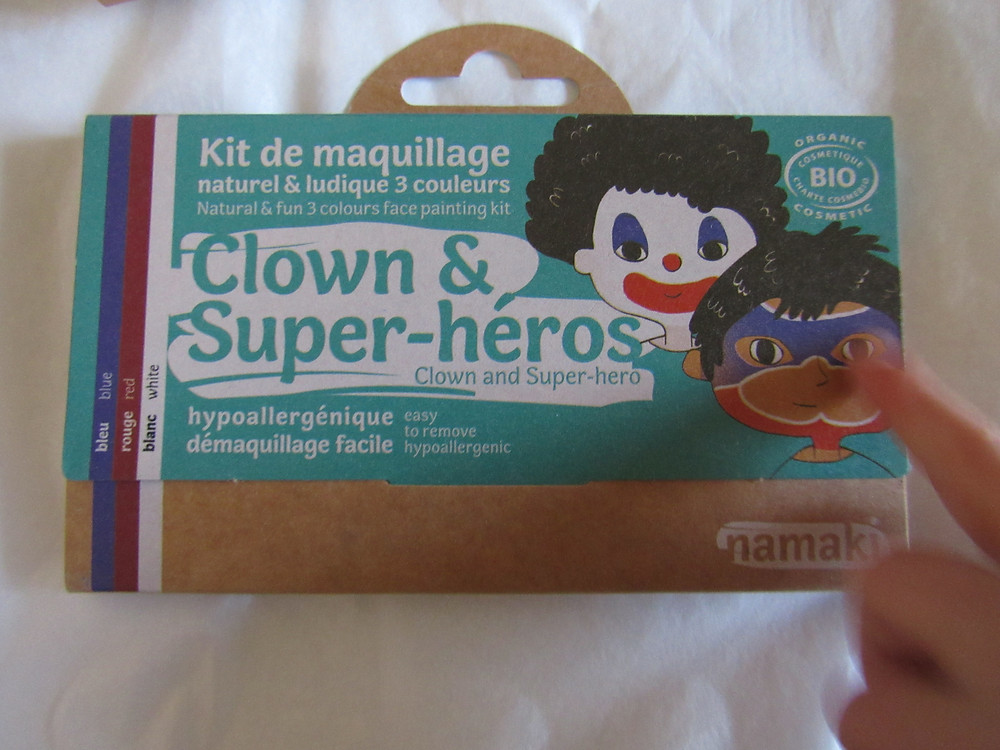le Kit de maquillage Clown et Super-héros, namaki