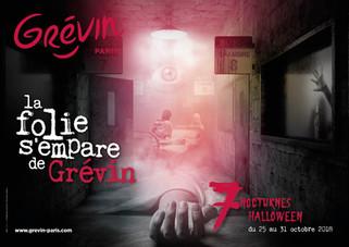 Halloween au musée Grévin