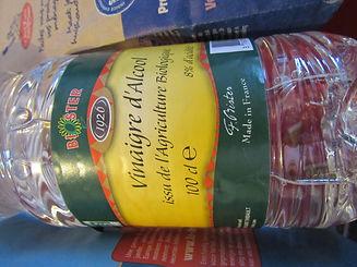 vinaigre, français, vinaigre d'alcool, agriculture biologique, vinaigre d'alcool bio